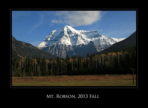 Mt. Robson in Fall