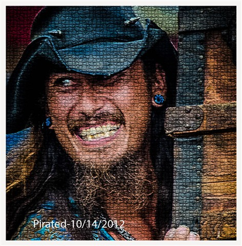 Pirate with border