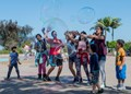 Soap bubbles- Balboa Park, San Diego
