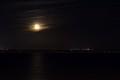 Moon wrapped in gauze