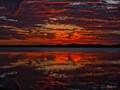 Sunset Under African Skies - Tono Dam, Ghana