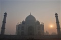 Taj in the morning