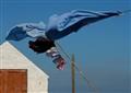 Windy day on the Moray coast