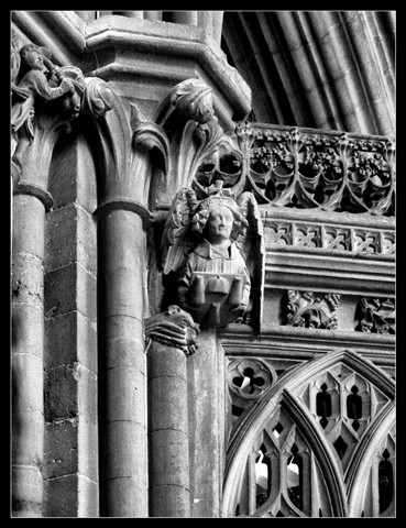 Gothic decoration Wells