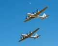 Two Boeing B-29 Superfortress Heavy Bombers