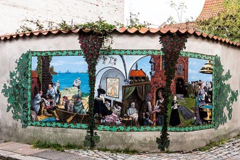 Street art in Elsinore