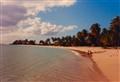 Kids on Antigua Beach