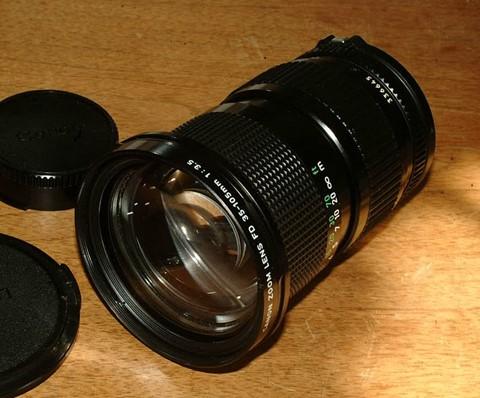Canon FD 35-105mm3.5