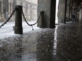 hailstorm in milano