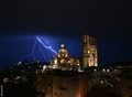 The Sky Opened Wide and Thor Hammered the Santa Prisca!