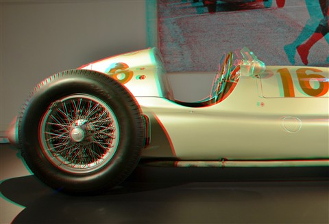 Mercedes Silver Arrows 3D