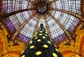 Xmas tree at Galeries Lafayette- Paris