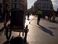 Early morning, Puerta del Sol, Madrid.