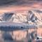 Dawn in Antarctica