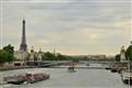 Eiffel and Seine River