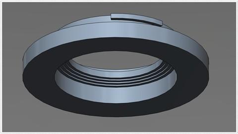 DIY NX Lens Mount - bottom