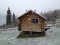 Cabin at Puntilla Lake, Alaska
