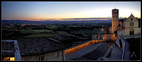 Nightfall in Umbria