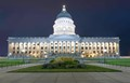 6 image stitch of the Capitol building on capitol hill in Salt Lake City, Utah.