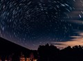 Polaris and a Perseid