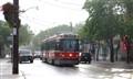 A Streetcar in Toronto, Canada