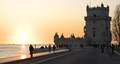 Torre de Belem Sunset
