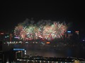 New Years Fireworks over Victoria Harbour, Hong Kong