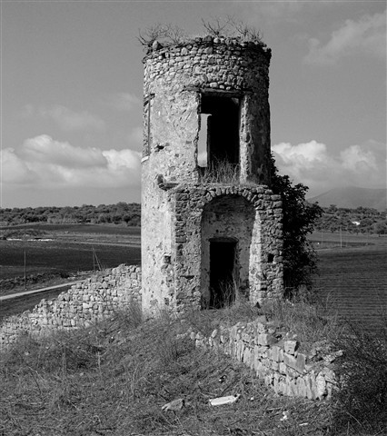 Ruins in the countryside