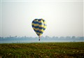 low flying balloon