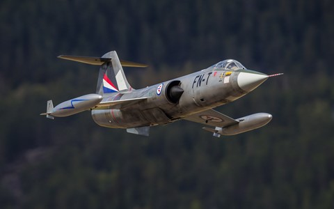 F-104 model jet