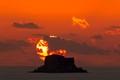 Volcano effect