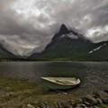 small boat, innerdalen norway