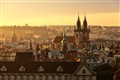 Prague in Morning Light
