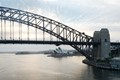 Sydney Harbour Bridge - early morning sunrise