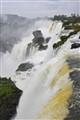 Power of water at Iguacu falls