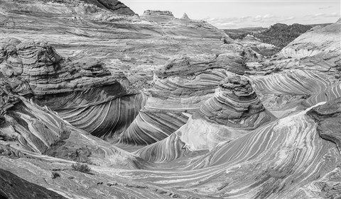 Wave of sandstone