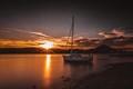 Sunset Boating Paradise