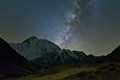 Night in the Himalayas