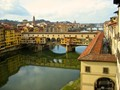 Florence - Ponte Vecchio seen from the Uffizi building
