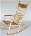 Maloof Inspired Rocker for Myles