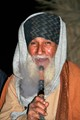 Old man smoking the shisha in Kharga Oasis, Egypt