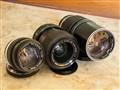 Olympus Zuiko 50mm f1.4; 35-70mm f4; 200mm f4