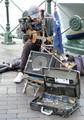 Street musician , Circular Quay, Sydney