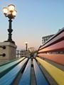 Sit on rainbow