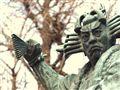 Kabuki Dancer Statue