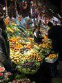 market at night - Barcelona